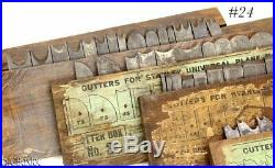 1 2 3 4 STANLEY TOOLS 55 CUTTER IRON SET box boxes labels