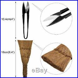 16Pcs Garden Bonsai Tool Set Carbon Steel Kit Cutter Scissors with Nylon Case