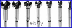 16Pcs/Set Woodworking Forstner Wood Drill Bit Set Boring Hole Saw Cutter Tool US