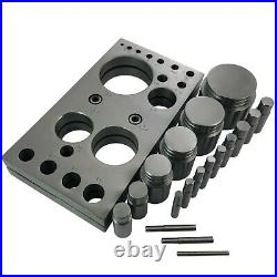 18 Circular disc cutter round cutting tool set extra large from 3mm -50mm tool