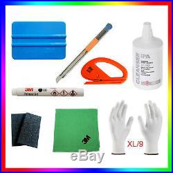 1x ORIGINAL 3M Primer 94+ Felts+3M cloth+ IPA+2x cutters+Wrap Gloves XL/9 &other