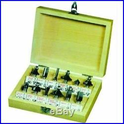 230v Bench / Top Shaper Router Table Scheppach Hf50 + Cutter Set 6 Ø MM