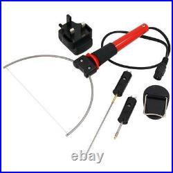 3-in-1 Hot Wire Electric Foam Cutter Styrofoam Polystyrene Cutting Tool Set C116