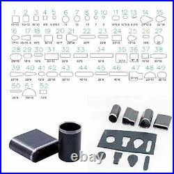 308Pcs The Most Complete Leather Working Tool Set 52Pcs Punch Cutter Tools