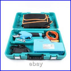 36V 3cm Opening Electric Garden Pruning Shear Branch Secateur Cutter Tool Set