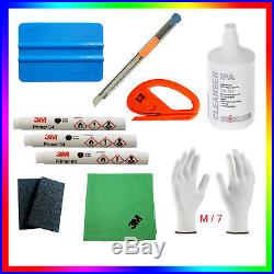 3x ORIGINAL 3M Primer 94+ Felts+3M cloth+ IPA+2x cutters+Wrap Gloves M/7 & other