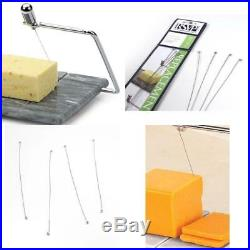 4 Pack Steel Stainless Cheese Slicer Wires #GRY-5 Durable Metal Cutter Tools Set