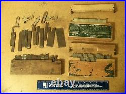 4 sets of Stanley No. 45 Combination Plane Cutters Woodworking sweatheart