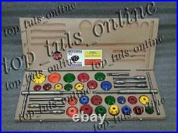 43x CARBIDE TIPPED VALVE SEAT CUTTERS SET FOR VINTAGE AND MODERN ENGINES TOOL