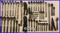 47 Craftsman ratchet tool lot includes breaker bars, flex heads, cutters & more
