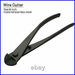 5-Piece Bonsai Tool Set, Knob Cutter, Concave Cutter, Wire Cutter, Jin