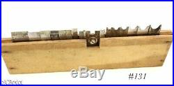 50 STANLEY plow plane w later notched size marked CUTTER IRON SET