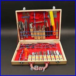 80pcs/Set Fruit Vegetable Carving Tool Set Cutting Engraving Peeler Cutter Set