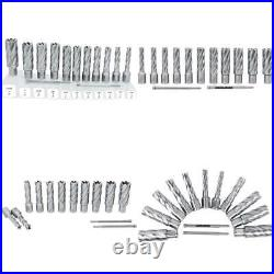 Accusize Industrial Tools 13 Pcs/Set 7/16'' To 1-1/16'' H. S. S. Annular Cutters