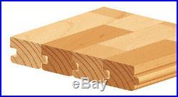 Amana Tool SC453 2-PC Flooring withNail Slot 2-5/8 D x 3/4 Bore Shaper Cutter Set