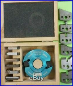 Amana Tool SCS-1100 Multi-Piece Profile Bore Shaper Cutter Starter Set