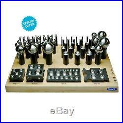 Ambassador Deluxe 62 Pcs Dapping Forming Punch & Cutter Set Jewelry Metal Tool