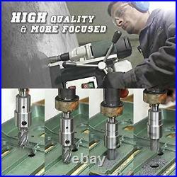 Annular Cutters Set 6 PCS HSS M2 Weldon Shank Drills with Pilot Pin