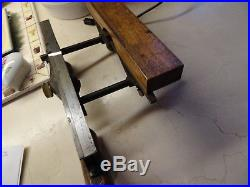 Antique Fales Patent Plow Plane With A Bottom Set And Cutter