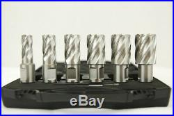 BRM35A-B Mag Drill by BLUEROCK Tools + 1 Annular Cutter Set, Package Deal