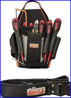 Bahco Electricians Tool Pouch Kit B4750-ETK 12 Piece Set, screwdrivers, cutter