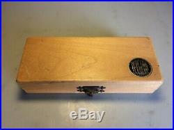 Bergeon 30007 Pivot Cutter Set Wooden Box Watchmaker Tool