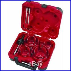 Big Hawg Hole Cutter Set, No 49569085, Milwaukee Elec Tool