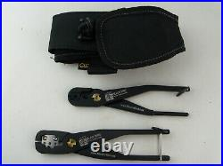 Blaster Tool and Supply BTS Crimper and Cutter Tool Set with CLC Pouch, Black