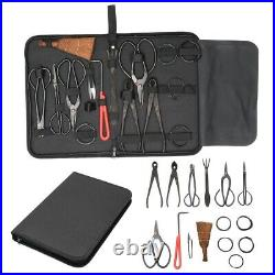 Bonsai Tool Set Carbon Steel Extensive Cutter Scissors Kit Garden Pruning Tools