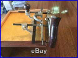 COMBINATION PLANE with FULL SET OF CUTTERS & CANVAS ROLL CRAFTSMAN VERSION OF 45