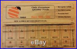Cmt Dovetail Router Cutter Set For Woodrat And Leigh's D3 Jig. 800 502 +case
