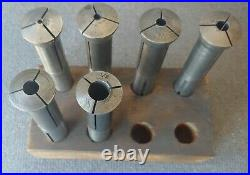 Collet Set for Deckel SO & SOE tool and Cutter Grinders