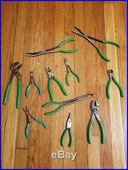 Cornwell Tools- 11 Piece Multipurpose Plier Set Needle Cutter Slip Jaw more NEW