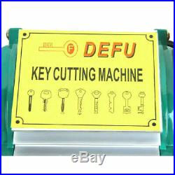 DEFU Key Duplicating Cutting Cutter Copy Machine Duplicator Locksmith Set Tool