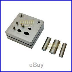 Disc Cutter with 6 PC Eye Shape Punches Set 4 to 16 mm Jewelry Tool Metalsmith