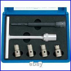 Draper 1x Expert 6 Piece Diesel Injector Seat Cutter Set Professional Tool 30823