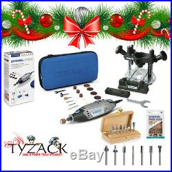 Dremel 3000 ROTARY MULTI TOOL POWER TOOL + 335 Router Attachment Cutter Set