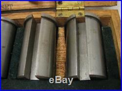 Du Mont Minute Man 10 Keyway Broach Set Cutter Shaft Key Way Hole Machinist Tool