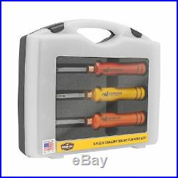 Easy Wood Tools 3-Piece Carbide Micro Turning Set with Bonus Cutter