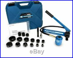 Electrical Conduit Hole Cutter Set Hydraulic Knockout Punch TH0004 Tool Kit