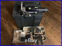 Festool 574332 Domino Joiner DF 500 Q set + Domino Assortment + 4 extra cutters