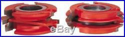 Freud UP262 2-Sided Ogee Profile Shaper Cutter Set 3/4 Rail & Stile Door 1 1/4