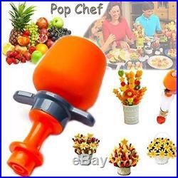 Fruit And Vegetable Shape Cutter Decorating Tools Slicer Set Pop Chef Cookie