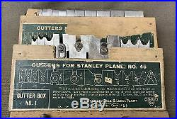 Good Stanley No 45 Complete, Full Set Of Cutters