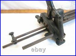 H. B. Rouse Vintage Letter Press Slug Block Cutter Lead Type Set Tool Letterpress