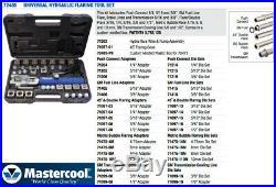 HYDRAULIC FLARING TOOL SET Mastercool #72485-PRC with mini tubing cutter