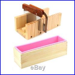 Handmade Soap Mold Loaf Cutter Adjustable Wooden Planer Box Cutting Tool Set
