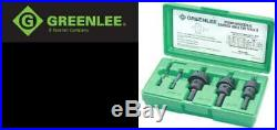 Hole Cutter Kit 5 Pc Tungsten Carbide GREEN/BLACK 3 PC Set Tools