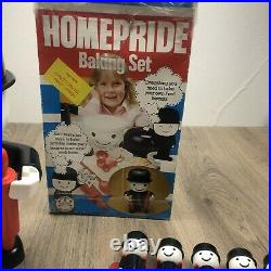 Homepride Fred Baking Set In Box Bundle With Tools & Cutters 1979 Vintage Toy