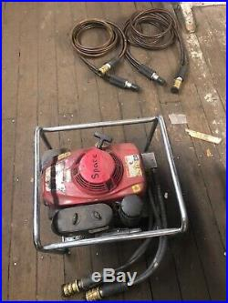 Hurst Hydraulic Rescue Tool Set with Spreader & Cutter